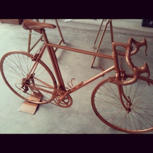 pintar bicicleta para decorar